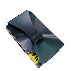 Mini Malette ARGENT Attached Case Porte Cartes Aluminium Visite - Porte carte anti rfid