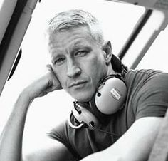 "Anderson Cooper ~ ma mere used to say, ""the finest white man in America"""