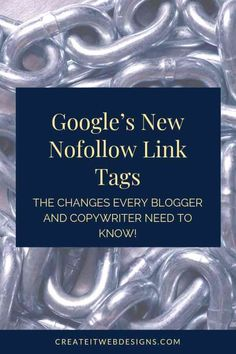 Calling all bloggers and copywriters! Have you heard about Google's new nofollow link tags?  In September 2019, Google introduced a new HTML structure for no follow links.  Check out the article to find out what changes you need to start making.  #HTML #seotips #seo #seobasics #webdesign #bloggingtips #copywriting #onpageseo Do You Now, How To Find Out, Blog Tips, Content Marketing, Digital Marketing, Seo Basics, Website Security, Seo Specialist