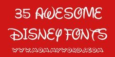 "These. Are. Soooo. COOOOOL!!! Free! Truly free! ""Disney-Fonts"" Aladdin, Mickey Mouse - and Minnie! (Who knew she had her own..), Toy Story, Mulan, Cinderella (!), The Lion King, Beauty and the Beast... lots more... Plus access to those that there's a chg for, should you need those.. :( - TsumTsumPlush.com best website for plush toys"