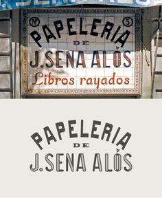 Papelería de J. Sena Alós. Valencia