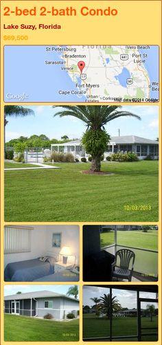 2-bed 2-bath Condo in Lake Suzy, Florida ►$69,500 #PropertyForSale #RealEstate #Florida http://florida-magic.com/properties/79187-condo-for-sale-in-lake-suzy-florida-with-2-bedroom-2-bathroom