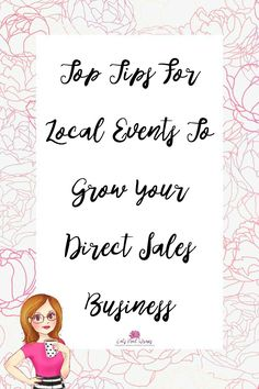 Top Tips For Local Events To Grow Your Direct Sales Business