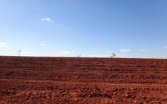 Soil preparation is one of the most important steps to having a successful cultivation stock photo