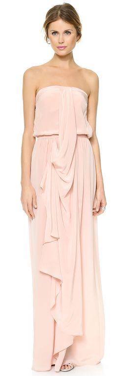 Silk v long dress zimmermann online