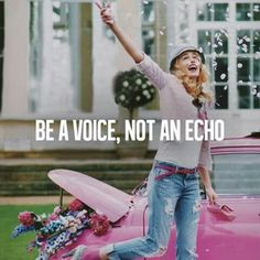 Be a voice..