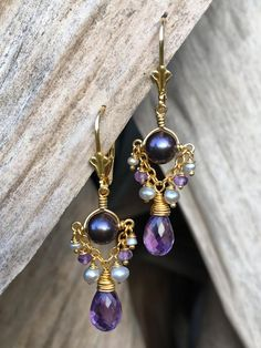 Soulful earrings wit