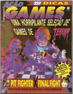 Games de terror na Ação Games.