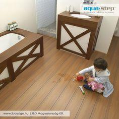 #aquastep #padló #floor #vízálló #home #bathroom #fördőszoba #idea #ibdesgin
