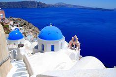 MUST go here. Santorini, Greece