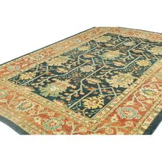 You'll love the Janelle Teal Area Rug at Wayfair - Great Deals on all Rugs products with Free Shipping on most stuff, even the big stuff.
