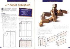 Manual de cajas plegables, envolver regalos o ~ Craft, blog hecho a mano