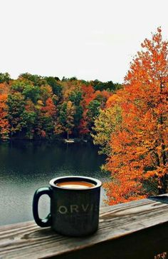 #Coffee and autumn ~ two of the best things in life