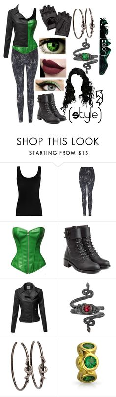 """Kaarina #1, Isle of the Lost"" by azul-reina ❤ liked on Polyvore featuring Twenty, George, Philosophy di Lorenzo Serafini, Michael Barin, Bling Jewelry and J&P"