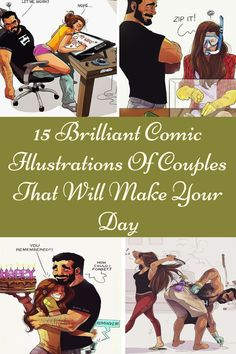 Blog Names, A Comics, Comic Artist, Make It Yourself, Couples, Day, Funny, Illustration, How To Make
