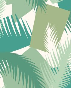 Deco Palm by Cole & Son - Green - Wallpaper : Wallpaper Direct Palm Wallpaper, Cole And Son Wallpaper, Green Wallpaper, Wallpaper Online, Geometric Wallpaper, Print Wallpaper, Pattern Wallpaper, Turquoise Wallpaper, Feature Wallpaper