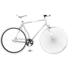 Walmart bike...but look how the frame curves around the wheel...very very neat.  Would add to my collection.