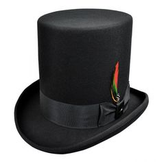 Stovepipe Top Hat available at  VillageHatShop Hats For Sale c9e6c61a5c2