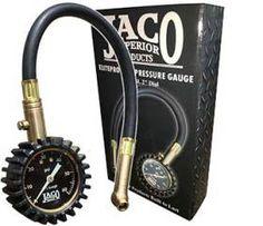 JACO ElitePro Tire Pressure Gauge – 60 PSI