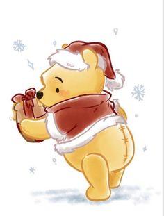 Winne The Pooh, Cute Winnie The Pooh, Winnie The Pooh Quotes, Winnie The Pooh Friends, Winnie The Pooh Drawing, Images Disney, Disney Art, Disney Films, Winnie The Pooh Christmas