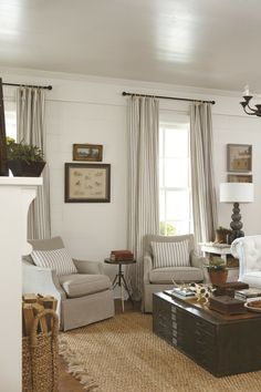planked walls, white room, neutral accents. If you're looking to create a cozy space, cottage decor is the way to go