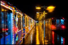 Chicago's HOLIDAY TRAIN!
