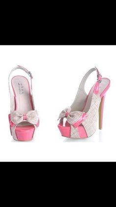 I heart pink & grey!