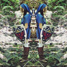 Blue Link cosplay by Rachel Lee photographed by DJBerns Rachel Lee, Link Cosplay, Hunter Boots, Rubber Rain Boots, Photo Shoot, Blue, Fashion, Photoshoot, Moda