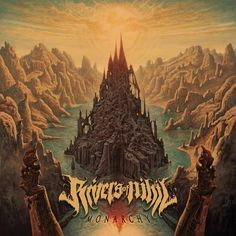 Rivers of Nihil - Monarchy (2015) Album Art by Dan Seagrave [www.danseagrave.com/] - Technical Death-Metal