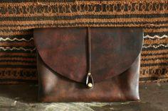 a.b.k. Custom Leather Craft - Clutch, $350.00