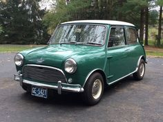 Bid for the chance to own a 1965 Austin Mini Cooper S Mark I at auction with Bring a Trailer, the home of the best vintage and classic cars online. Old Classic Cars, Classic Cars Online, Classic Mini, Austin Cars, Cooper Car, Mini Copper, Mini S, Small Cars, Vintage Cars