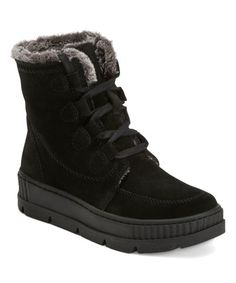 Earth Black Oaklynn Vail Suede Lace-Up Boot - Women   Best Price and Reviews   Zulily Cold Weather Boots, New Today, Free Shoes, Vegetable Tanned Leather, Shoe Box, Lace Up Boots, All Black Sneakers, Footwear, Accessories