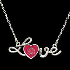 Undefeated NCAA Ranked Teams! Ohio State Heart Love Script Fashion Necklace J and D Jewelry and More http://www.amazon.com/dp/B016B1TVC4/ref=cm_sw_r_pi_dp_BIOowb141M8JJ