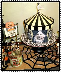 Zetta's Aprons: Halloween Circus...New Additions!