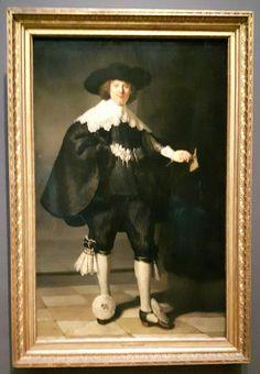 Rembrandt van Rijn (1606-1669), Portret van Marten Soolmans, 1634. Olieverf op doek. Gezamenlijke aankoop van de Staat der Nederlanden en de Republiek Frankrijk, collectie Rijksmuseum/collectie Musée du Louvre, 2016