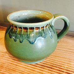 I do love a good glaze fire by mudqueenpottery