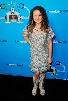 Actress Rebecca Bloom arrives for the 3rd Annual Geekie Awards held at Club Nokia on October 15 2015 in Los Angeles California