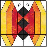 Interesting butterfly block