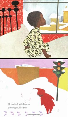 March 11th: Author-illustrator Ezra Jack Keats was born on this day in 1916. His The Snowy Day became an instant classic in 1963, winning the Caldecott Medal. Wanda Gág, who wrote and illustrated Millions of Cats, was also born on this day.