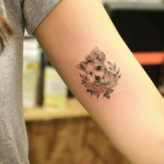 15 Tattoo Styles For Every Type Of Person - UK - pet dog puppy tattoo ideas You are in the right place about angel tattoo Here we offer you the most - Unique Tattoos, Beautiful Tattoos, New Tattoos, Body Art Tattoos, Cool Tattoos, Awesome Tattoos, Tatoos, Baby Tattoos, Flower Tattoos
