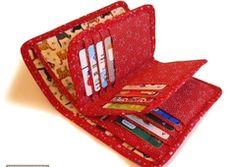 27 - pocket wallet sewing pattern - napkittenpattern - Other - Sewing Patterns - DaWanda