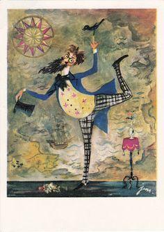 Pan Kleks: Jan Marcin Szancer Date 1961 Illustrators, Moose Art, Drawings, How To Make, Animals, Google, Polish, Paintings, Tattoos