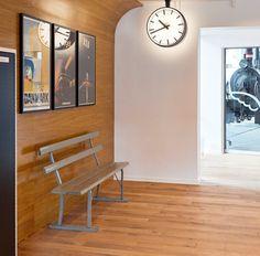 Interior design. Danmarks Jernbanemuseum. By Anni Gram.