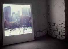 Giant Lamp-Like Polaroid Style Photo Frame