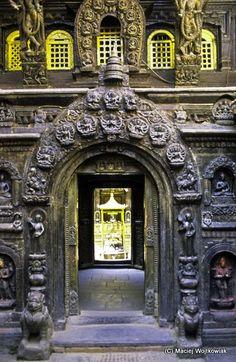 Buddhist Golden Temple, UNESCO WHS, Patan, Kathmandu Valley, Nepal