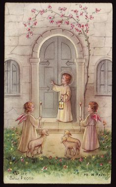 Holy Cards for Children: Christ Child