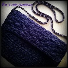 Handmade Handbags, Facebook, Crochet, Unique, Accessories, Fashion, Totes, Handmade Bags, Moda