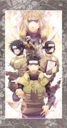 Naruto Facts Tumblr   kotetsu hagane on Tumblr