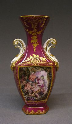 Vase (one of a pair) Chelsea Porcelain Manufactory ca. 1761