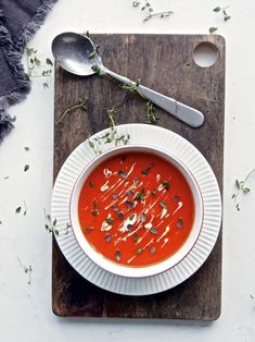 Paprikakeitto resepti Ethnic Recipes, Food, Essen, Meals, Yemek, Eten